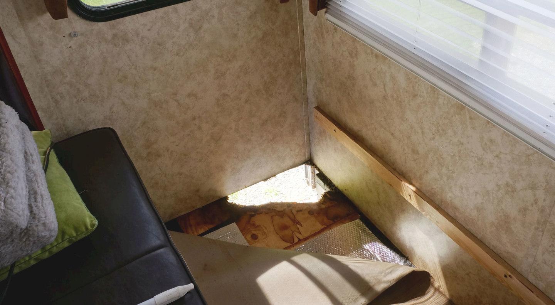 Rotten Slide Out Floor Corner Love Your Rv Forum